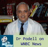 Dr. Podell Appearing on WNBC News 4 New York with Max Gomez
